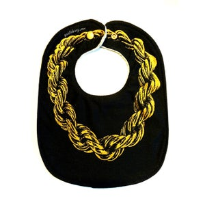 Image of Gold Chain ) Bib ) Colors Available