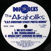 "Image of THA ALKAHOLIKS ""E.S.P. (Everyday Street Poets) Demos"" BLACK VINYL"