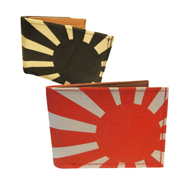 Image of Rising Sun ) Bifold Wallet