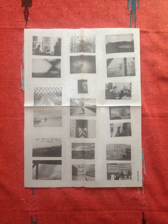 Image of NYC Photos Newsprint Poster