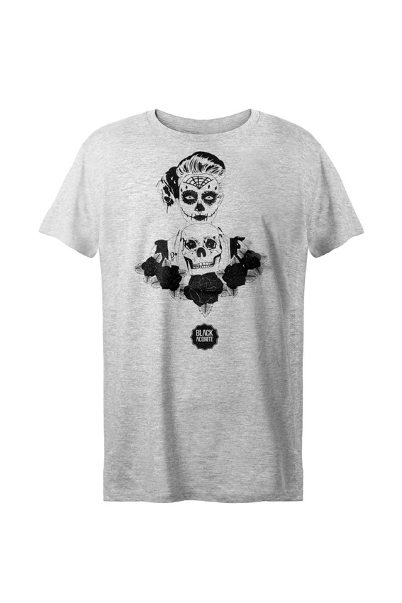 Image of La Muerte - Tee-shirt col rond homme