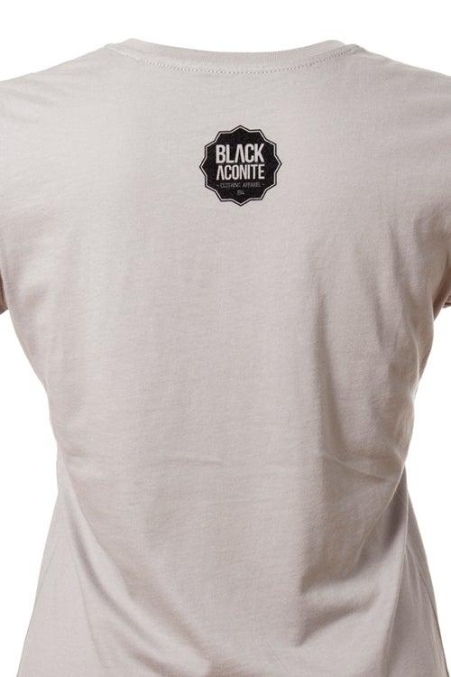 Image of La Brune - Tee-shirt col rond femme
