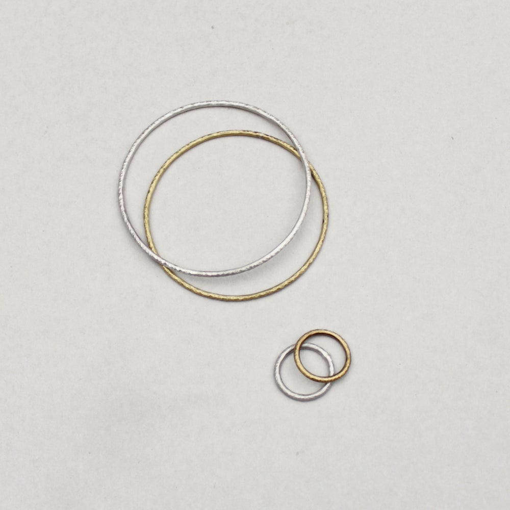 Image of Beaten Bracelets + Rings