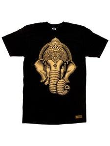 Image of GANESHA T-Shirt   Gold Series
