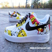 "Image of Brooklyn Art Series: ""Splash Art"" Air Force One Custom"