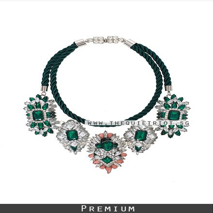 Image of Grande Emerald Necklace