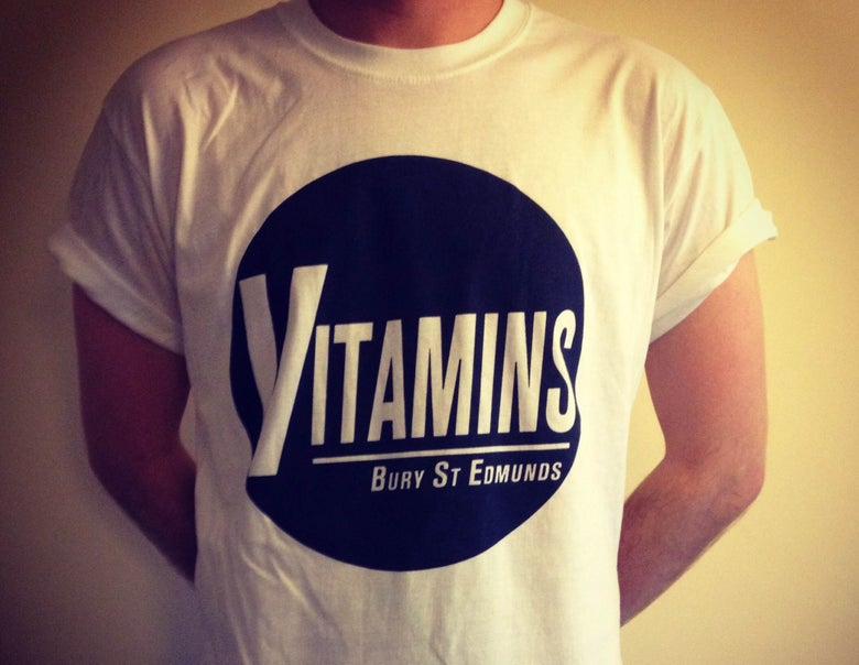 "Image of The Vitamins - ""Bury St. Edmunds"" Tee"