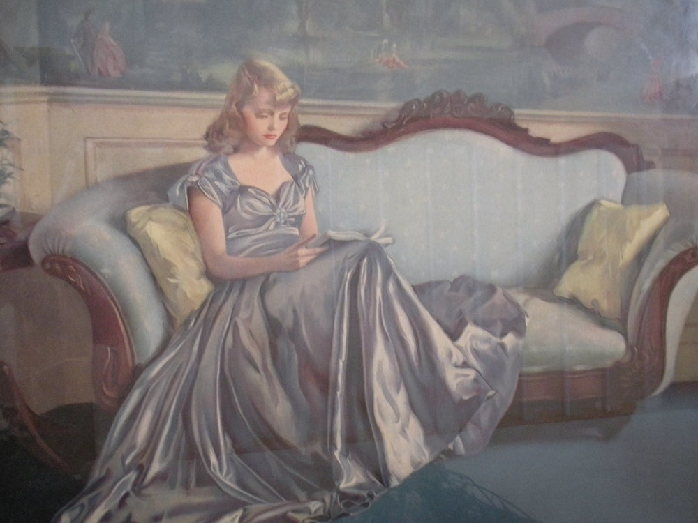 Image of The Silken Gown