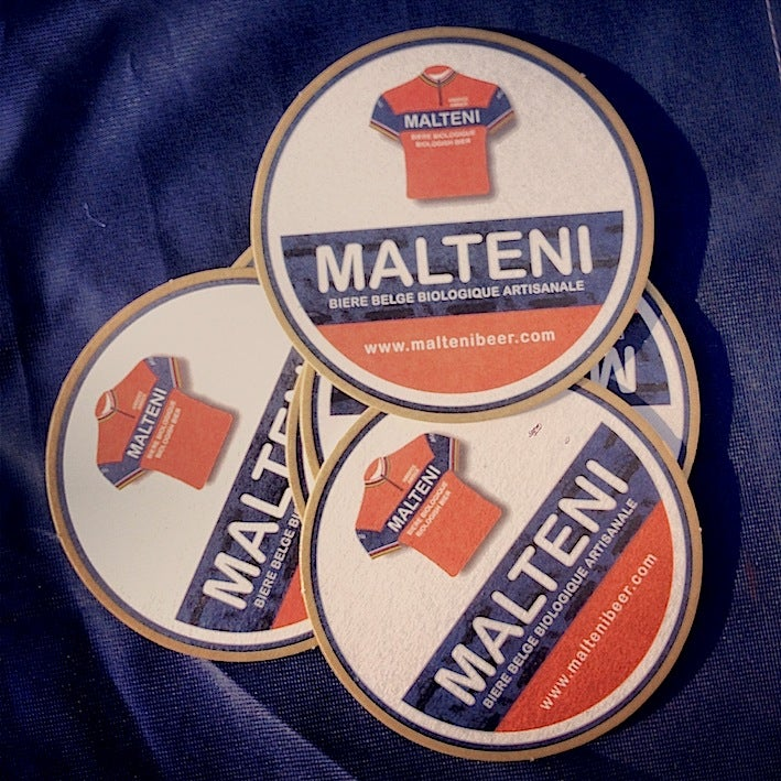 Image of Malteni beer mats kit