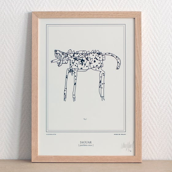 Image of Silkscreen // Jaguar
