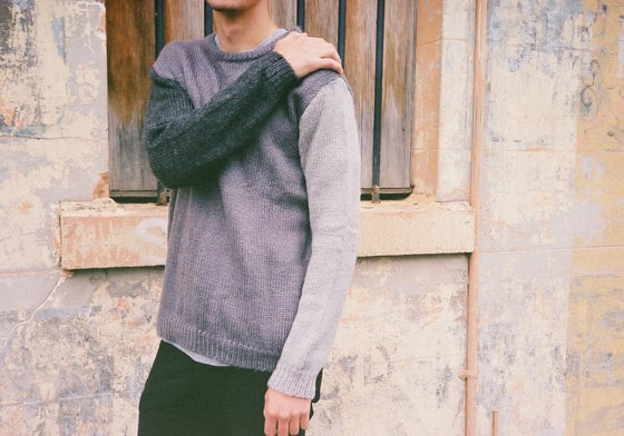 Image of The Bends Knit (Charcoal/Ash/Grey)
