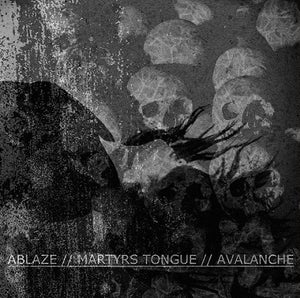 Image of Split w/ Martyrs Tongue & Avalanche A.D.