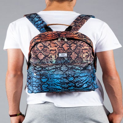 Image of HYPE.SNAKE SKIN BACKPACK
