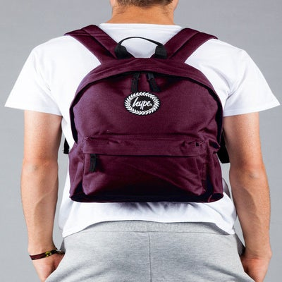 Image of HYPE.BAG BURGUNDY