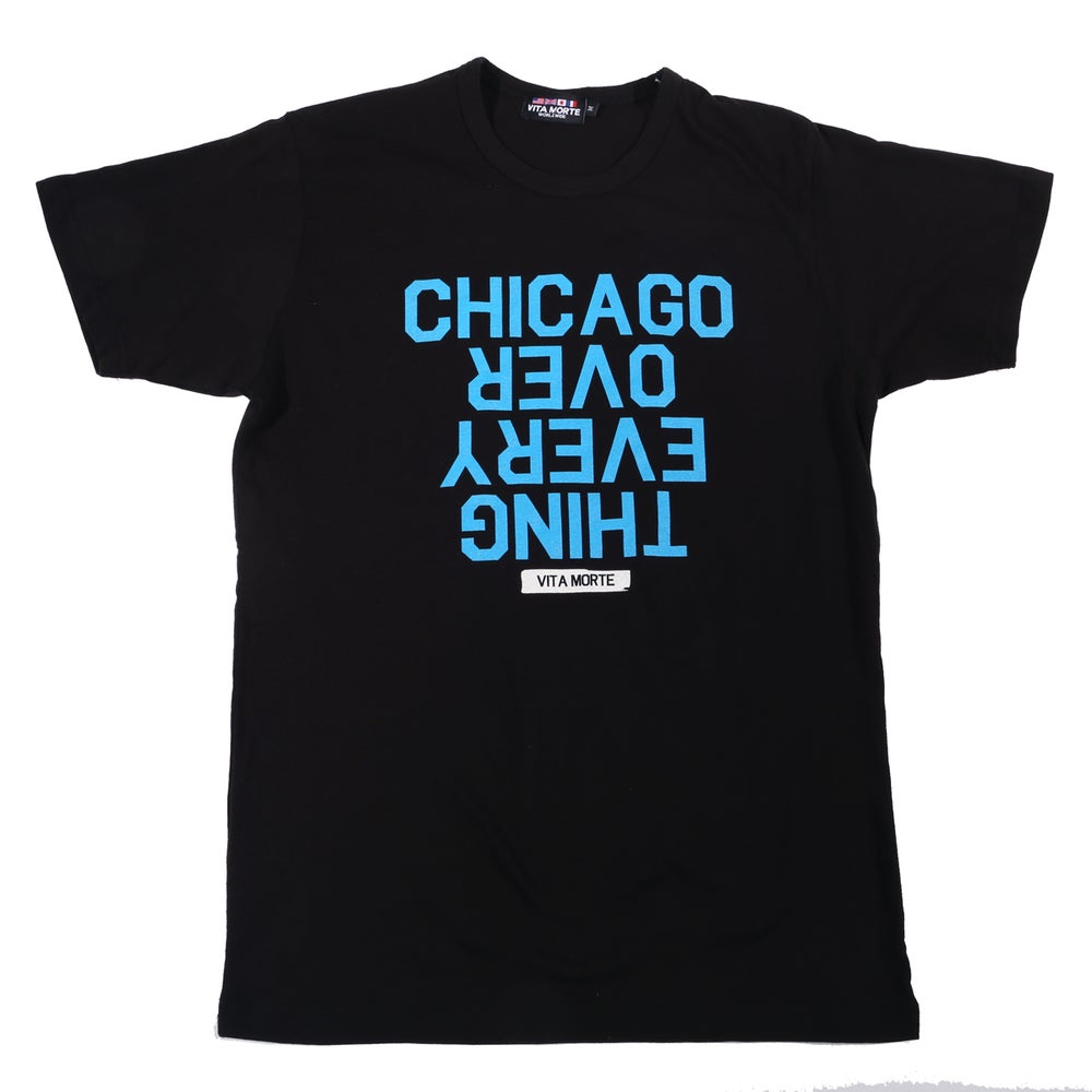 Image of Chicago Over Every Thing Tee Electric Blue