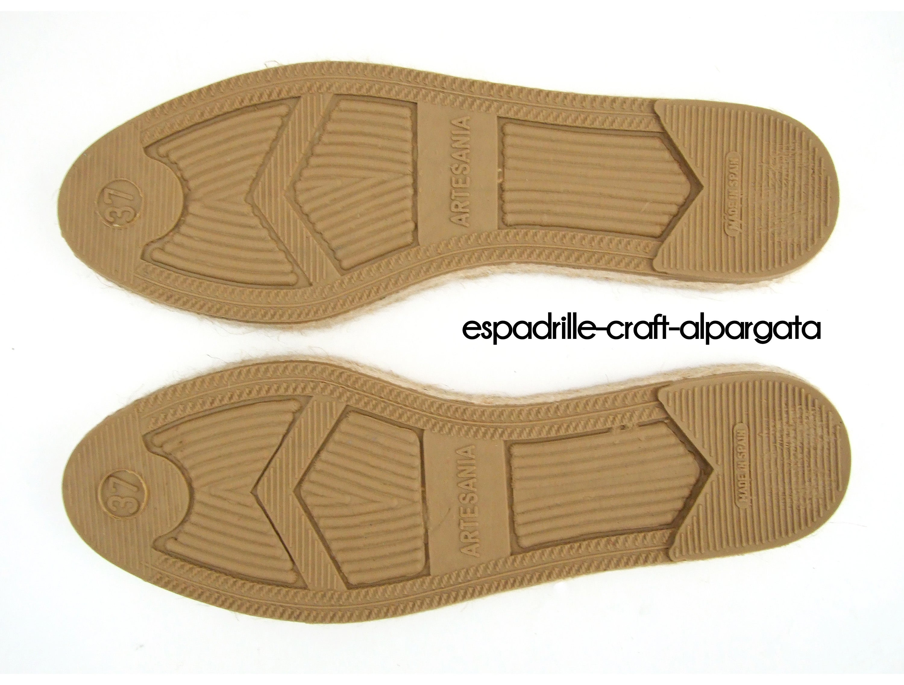 how to make espadrille soles