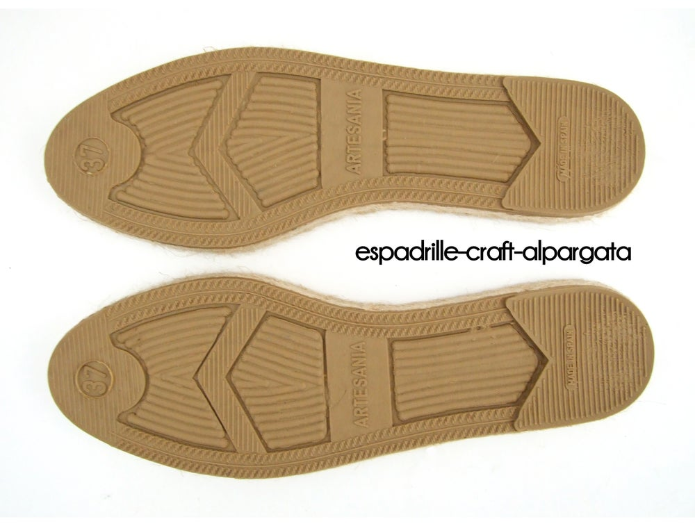 Image of espadrille soles M5 - flat - unisex - EU Sizes 35 to 42