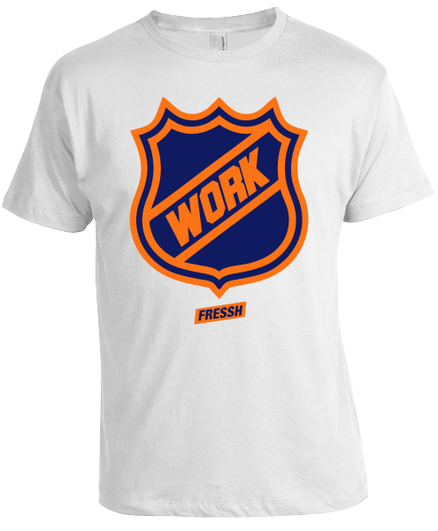 "Image of ""Work"" White T-Shirt"