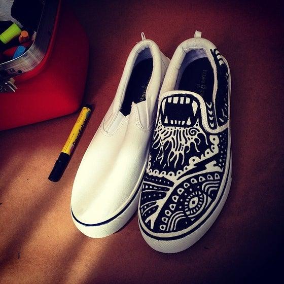 Image of Hand Painted Custom Kicks