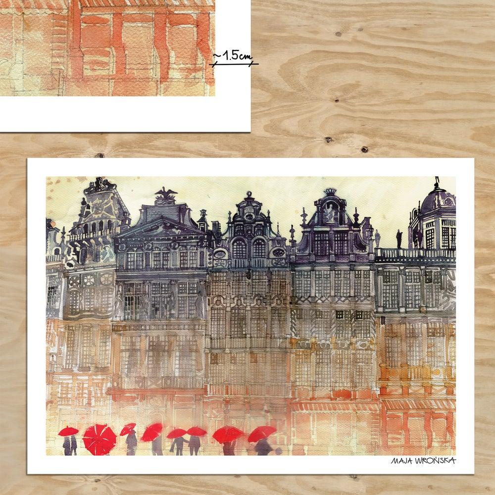 Image of Brussels print