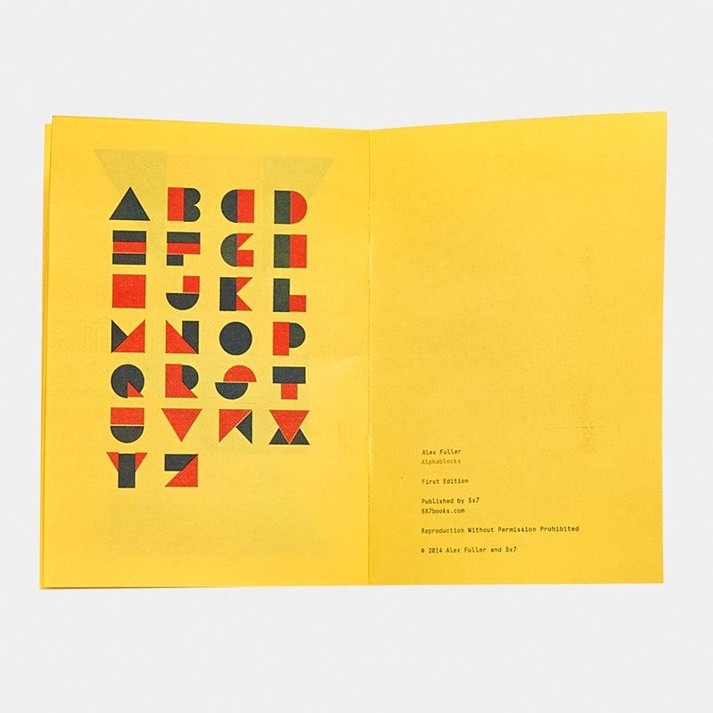 Image of Alphablocks, Alex Fuller