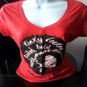 Image of Naturally Flyy (Red) Tee