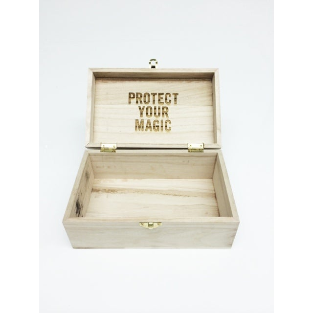 Image of PYM Raw Wood Box