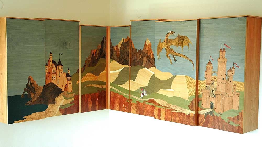 Image of Item 116. My Design - The Dragon, The Wardrobe and The Beds.