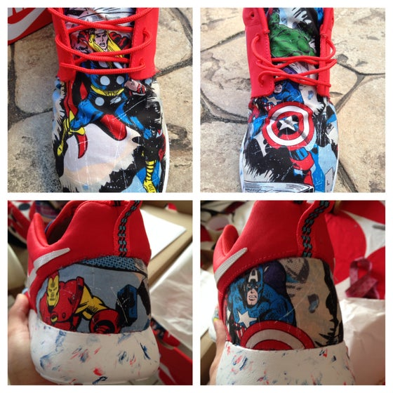 "Image of Roshe run ""Avengers"""