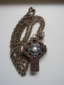 Image of Cross Necklace from Topshop