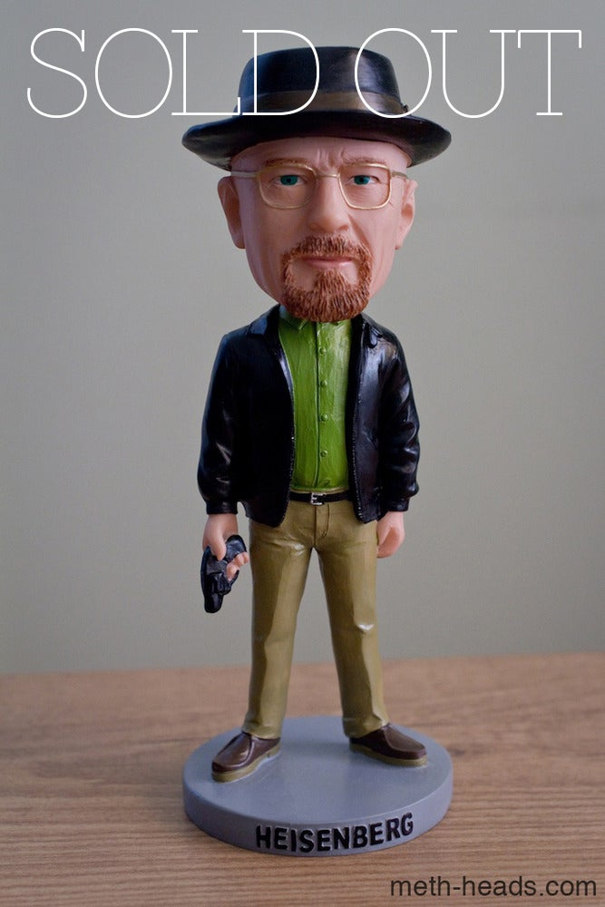 Image of SOLD OUT *LIMITED EDITION OF 100* Heisenberg Bobble Head Statue