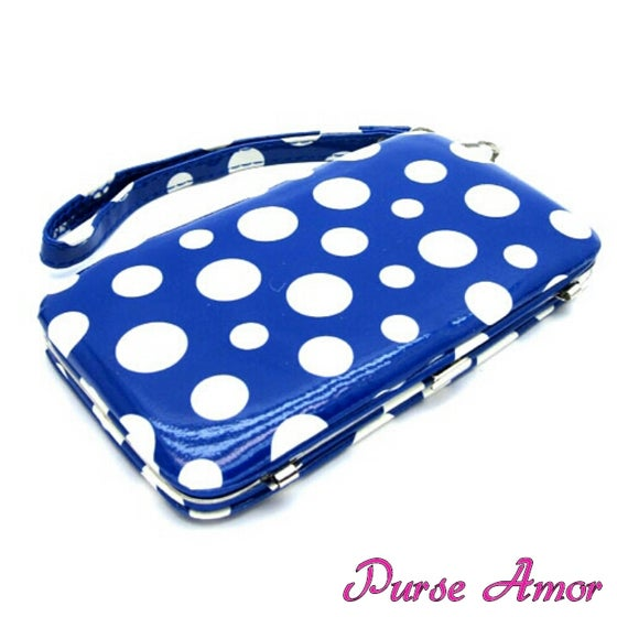 Image of Polka Dot IPhone 5 Clutch