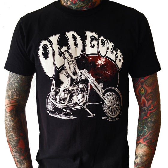 "Image of NEW! ""Ramblin Rose"" knucklehead T-shirt"