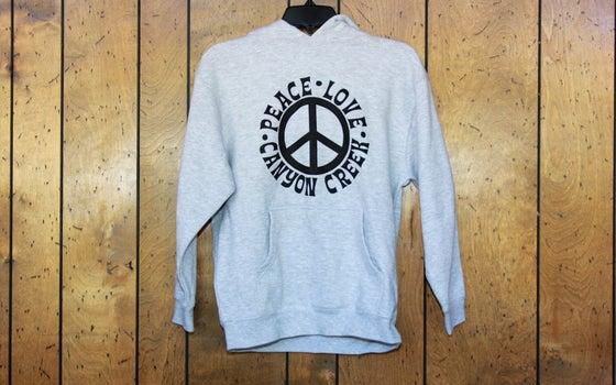Image of Peace Love Canyon Creek Hoodie - Youth