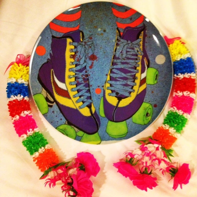 Image of Rollerskate plate