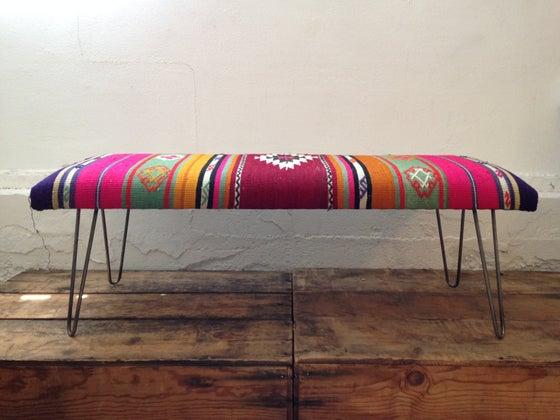 Image of Custom Kilim Bench - Medium & Large