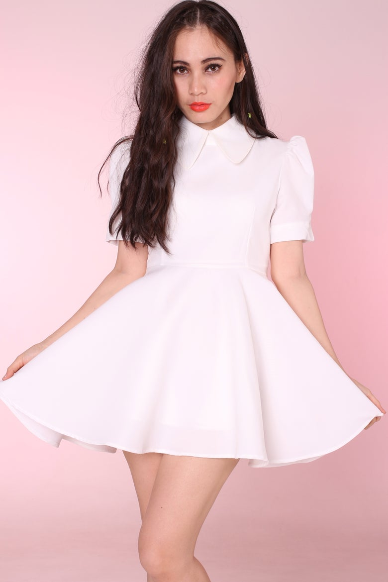 Image of All White Alice Dress