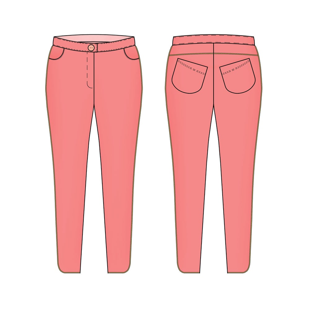 Image of Kepa - le pantalon slim - lady