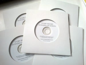 Image of Tour EP - Extended Live Session Story Books