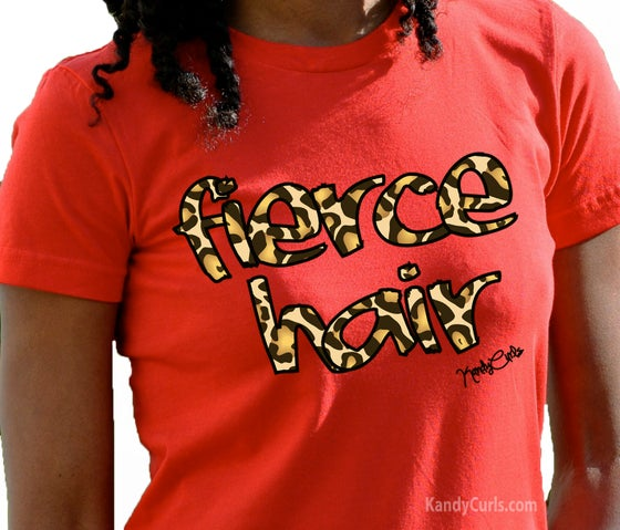 Image of Fierce Hair - Natural Hair T-shirt