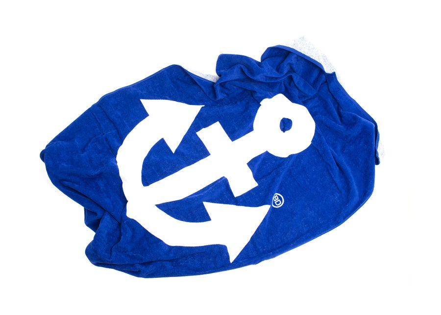 Image of Büro Destruct - Beach Towel (Anchor)