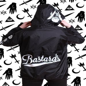 Image of Bastards Pullover (windbreaker)