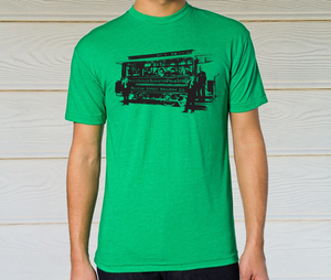 Image of Raleigh Streetcar - Kelly Green