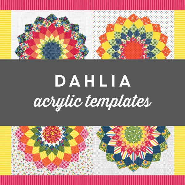 Image of Dahlia Acrylic Templates