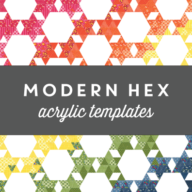 Image of Modern Hex Acrylic Templates