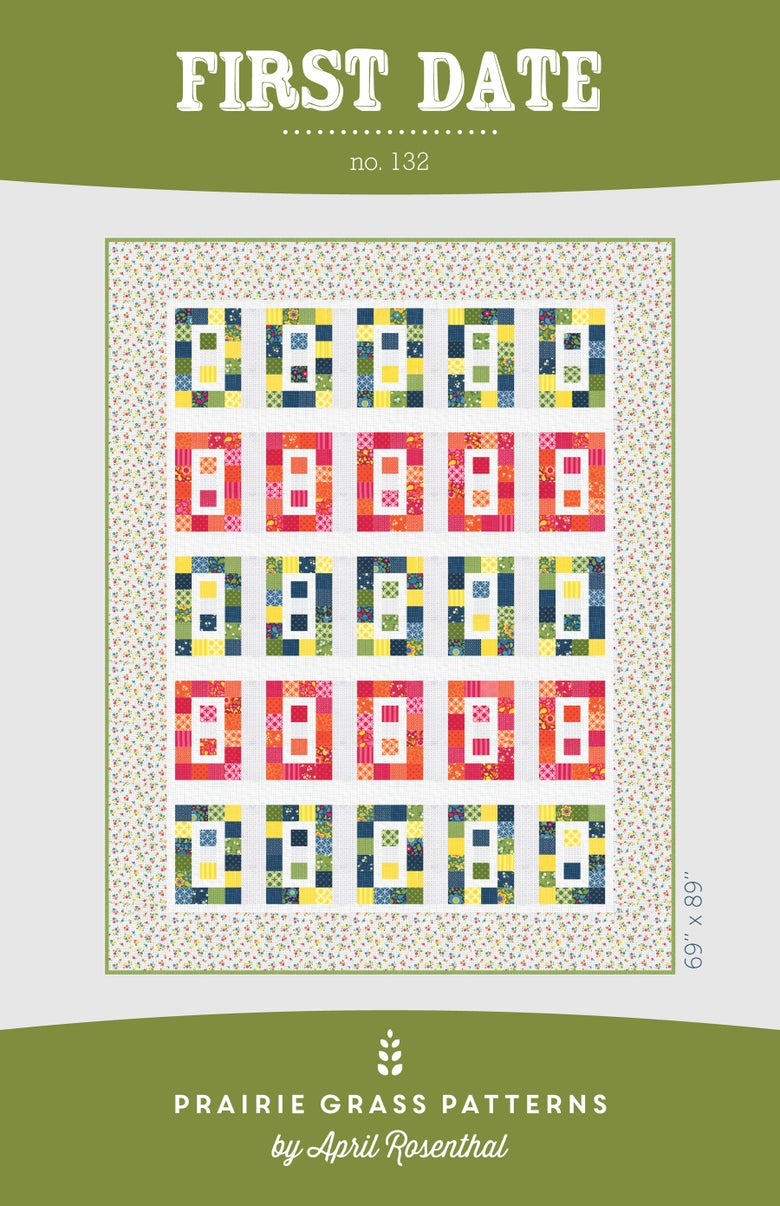 Image of First Date: Quilting Pattern #132