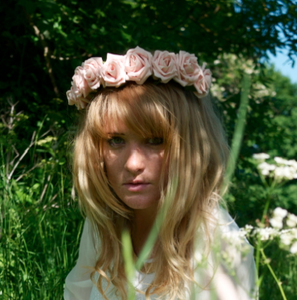 Image of Wild Emily - Vintage Pink Wild Flower Crown Head Band