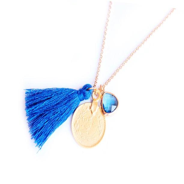Bijoux fantaisie collier medaille