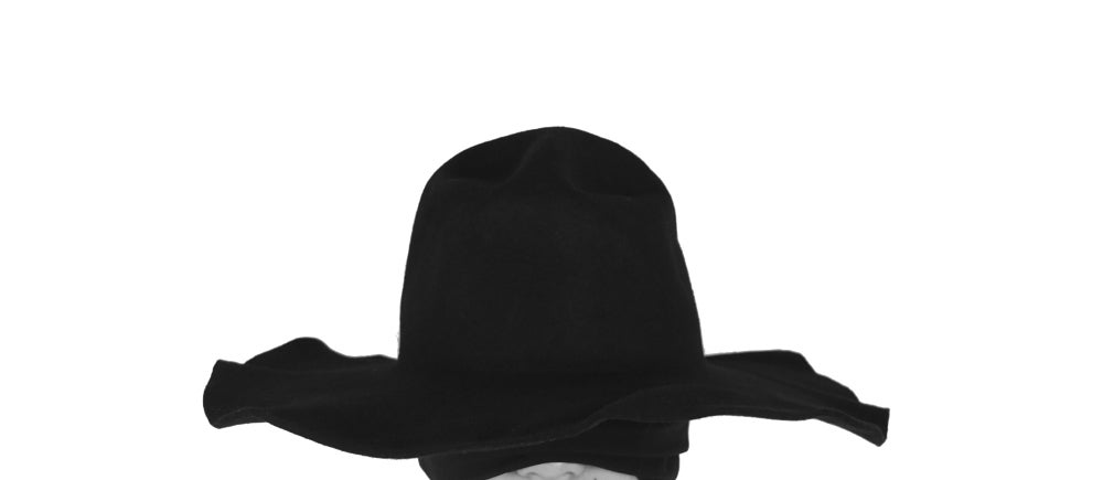 Image of Wool Brim Fedora Hat - 005