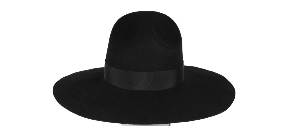 Image of Wool Brim Fedora Hat - 007